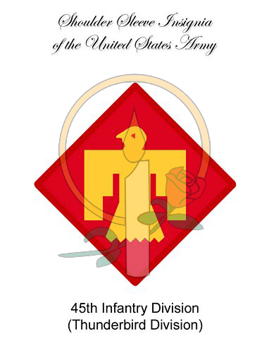 SSI Card, 45th Infantry