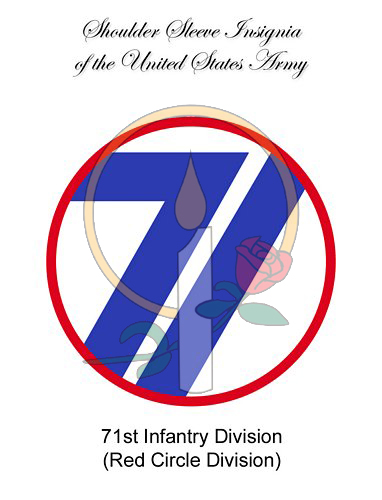 SSI Card, 71st Infantry
