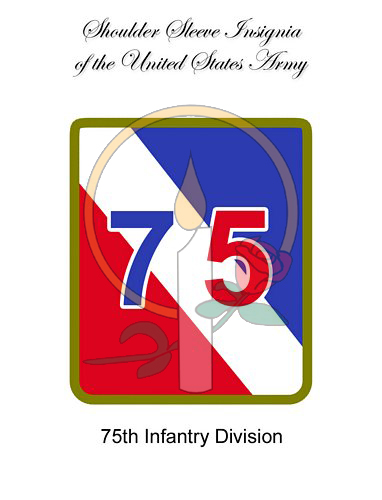 SSI Card, 75th Infantry