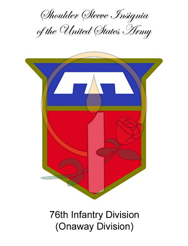 SSI Card, 76th Infantry