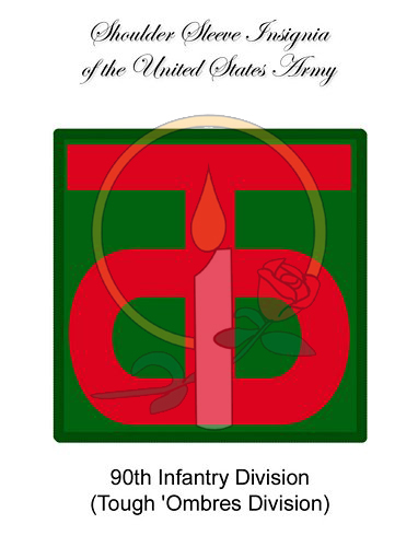 SSI Card, 90th Infantry
