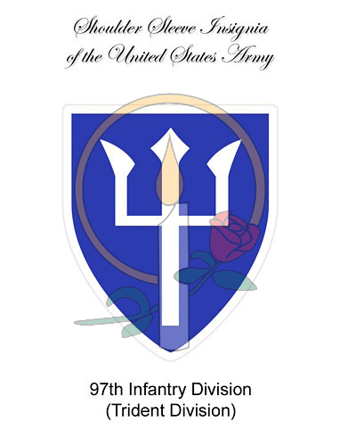 SSI Card, 97th Infantry