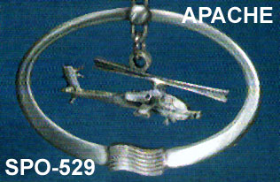Pewter Apache Ornament