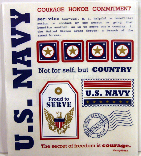 Say it with Navy