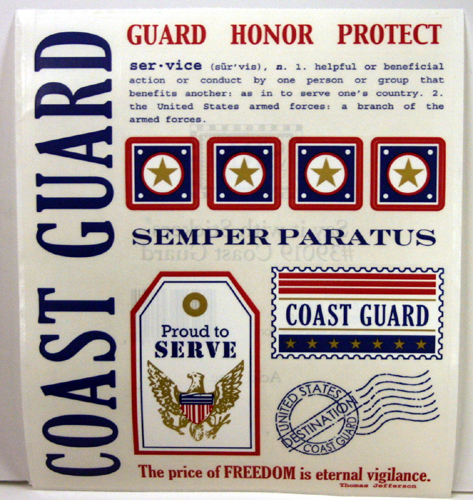 Say it with Coast Guard