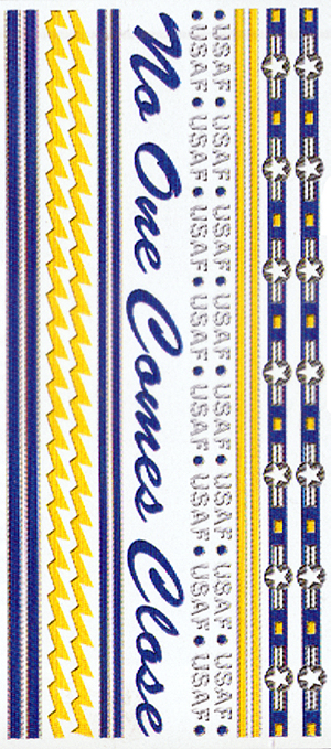 Border Sheet, Air Force
