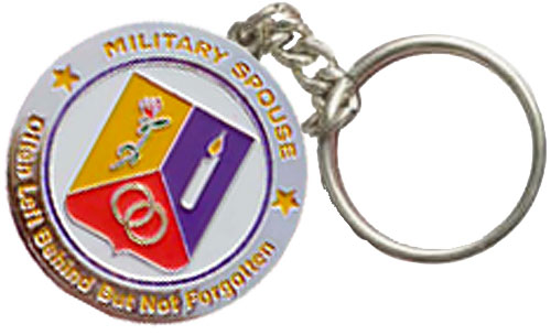Spouse Coin Keychain