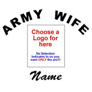 Army Wife with Name