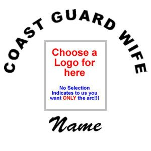 Coast Guard Wife with Name