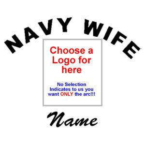 Navy Wife with Name