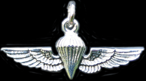 Jump Wings USMC - Silver Charm